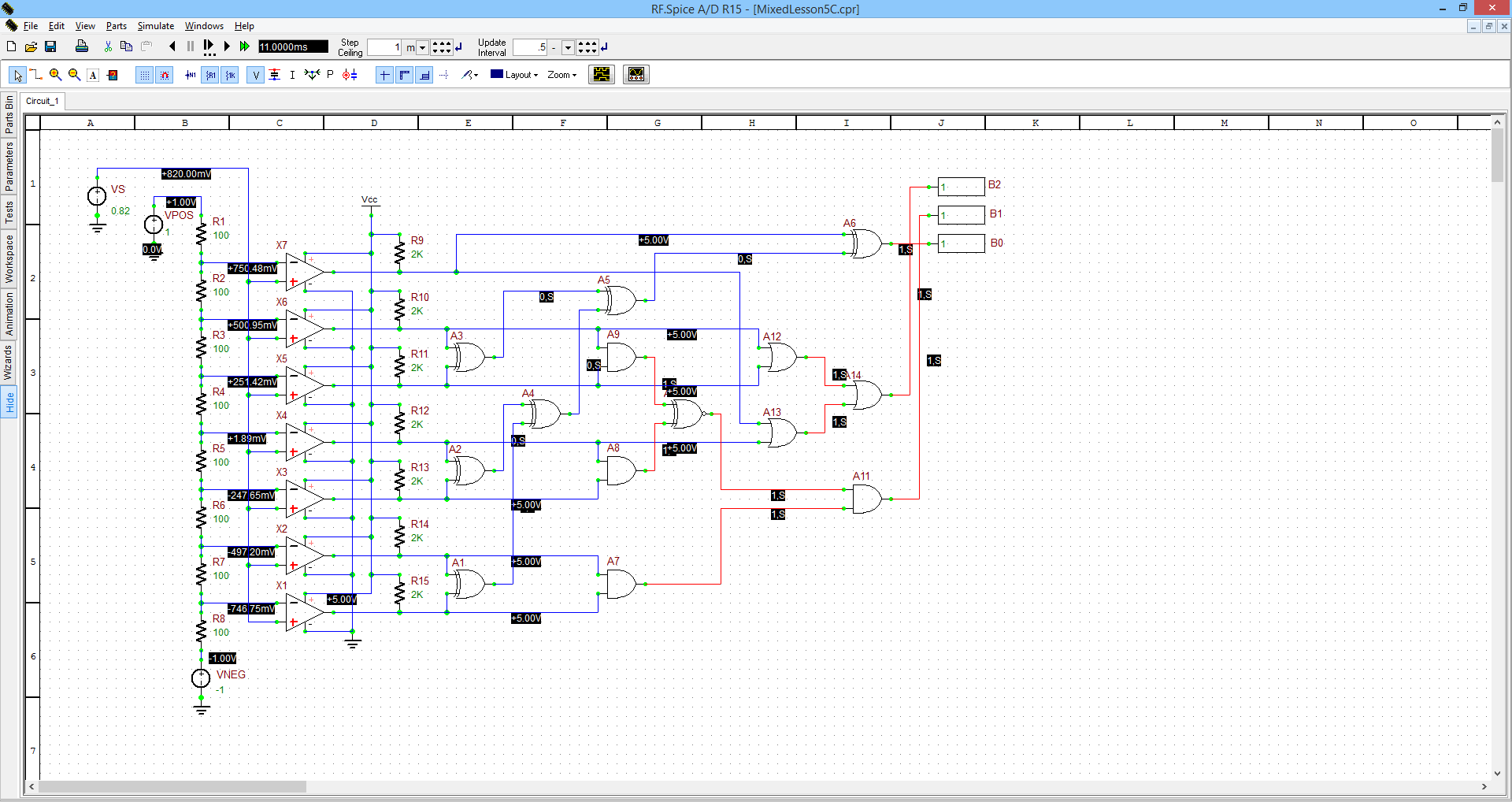 Rf Spice Ad Emag Technologies Inc Software Is Very Useful When Simulating This Type Of Circuit Diagram A D