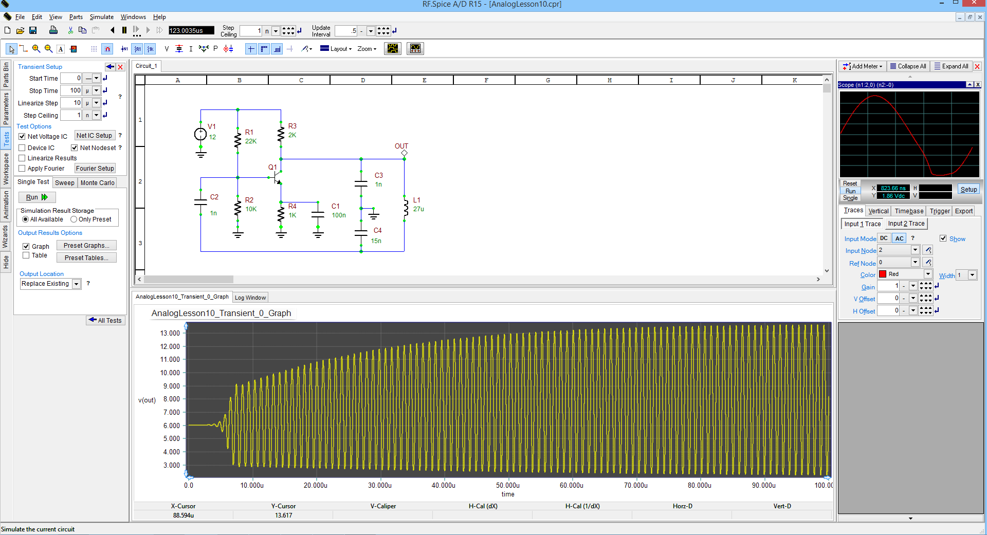 Rf Spice Ad Emag Technologies Inc Electronic Circuit Simulator Online Its Good At Simulation A D